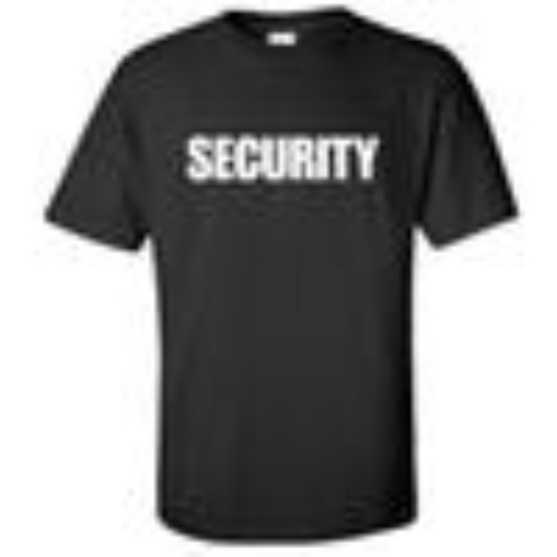 Security Guard Shirt Style 129