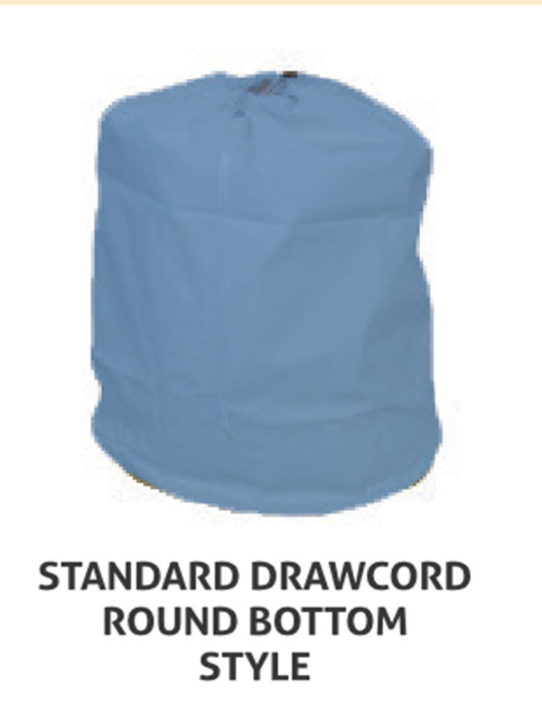 Standard Drawcord Round Bottom Style Laundry Bag Style 110